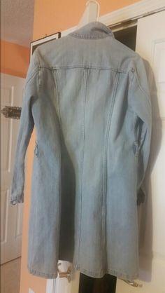 Jeans jacket start working on