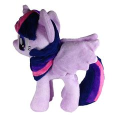 b98b90352c4 MLP Twilight Sparkle with open wings 12-Inch Plush My Little Pony Plush