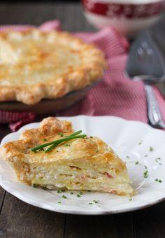 Potato Bacon Pie