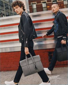 Coach Spring/Summer 2018 Style Edit: On the Move Coach is on the move as the brand takes to the streets of Brooklyn, New York for its latest style edit. The label enlists the help of photographer Nick Riley Bentham to capture the outing. Meanwhile, models Satoshi Toda and Serge Rigvava embody the spirit of Coach's