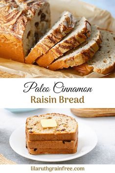 Paleo Cinnamon Raisin Bread – Lila Ruth Grain Free – Famous Last Words Gluten Free Baking, Gluten Free Recipes, Paleo Fall Recipes, Paleo Ideas, Primal Recipes, Dinner Recipes, Pain Aux Raisins, Paleo Postre, Pan Sin Gluten