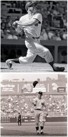 Today in Sports History: April 1962 New York Yankee Mickey Mantle hits his homerun Baseball Star, New York Yankees Baseball, Better Baseball, Baseball Players, Baseball Socks, Baseball Cards, Damn Yankees, Yankees Fan, Baseball Pictures