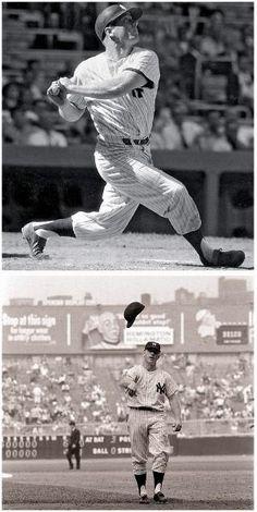Today in Sports History: April 1962 New York Yankee Mickey Mantle hits his homerun Baseball Star, New York Yankees Baseball, Baseball Players, Baseball Socks, Baseball Cards, Damn Yankees, Yankees Fan, Baseball Pictures, Sports Pictures