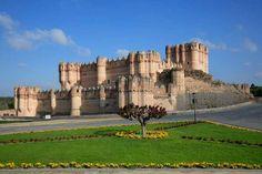 Castillos medievales de España -  Castillo de Coca