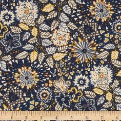 From the world famous Liberty Of London, this exquisite cotton/wool blend gabardine shirting fabric is finely woven, lightweight and ultra soft with a beautiful drape. This gorgeous fabric is oh so perfect for blouses, dresses and skirts. Colors include yellow, shades of blue, brown and white.