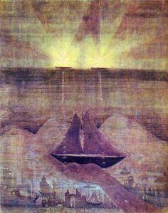Andante (sonata of the sea) - Mikalojus Ciurlionis