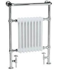 Update your bathroom with affordable Heated Towel Rails from BestHeating. Find modern & traditional towel radiators in a range of sizes with Free UK Delivery. White Towel Rail, Chrome Towel Rail, White Towels, Traditional Towel Radiator, Traditional Radiators, Modern Traditional, Traditional Bathroom, Modern Shower, Modern Bathroom