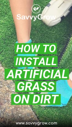 Here's a step-by-step guide so you can learn how to expertly install Artificial Grass. We are using our SavvyTurf Premium Artificial Grass in here. Turf Installation, Artificial Grass Installation, Laying Artificial Grass, Artificial Turf, Backyard Putting Green, Faux Grass, Florida, Patio, Outdoor Living