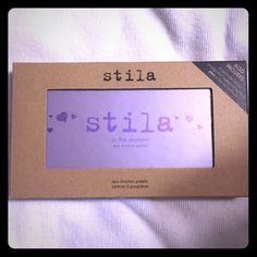 In the moment palette By Stila. Used a few times. Packaging a little dirty from sitting on my vanity, but eyeshadow a still look brand new. Free ship on Ⓜ️ Stila Makeup Eyeshadow