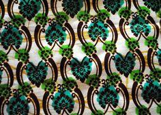 Colorful Kitenge fabric from Rwanda!