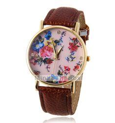 EUR € 6.42 - orologio modello di fiore di modo delle donne, Gadget a Spedizione Gratuita da MiniInTheBox!