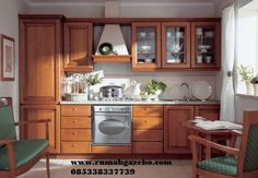 Model kitchen set l mini untuk dapur mungil 7 warna for Harga kitchen set sederhana