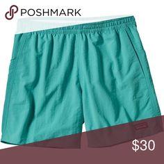 patagonia turquoise shorts women's patagonia baggies in turquoise Patagonia Shorts