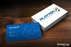 Cliente: Plotter + | Peça: Identidade Visual | Direção de arte: Daniel Rozenblit | Agência: Promovva Comunicação Estratégica