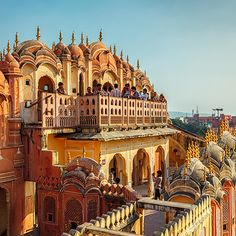 Jaipur - A city that boasts some of the finest architecture.