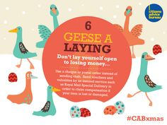 Don't lay yourself open to losing money #CABxmas