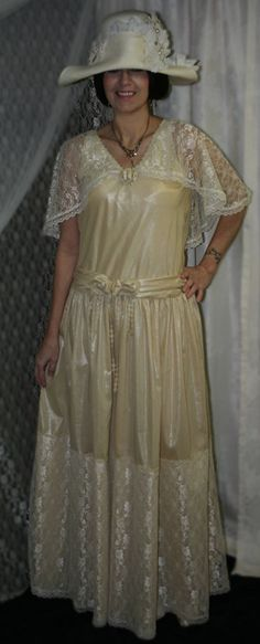 1923 style gown from Recollections