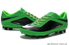 Cheap Nike Hypervenom Phelon Fg Firm Ground Football Boots Black Green White