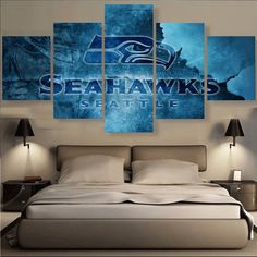 (50% OFF) HD LIMITED EDITION SEATTLE SEAHAWKS CANVAS - FREE SHIPPING