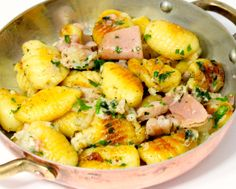 Sautéed Potato Gnocchi with Prosciutto and Parmesan Cheese - Cooking Cla...