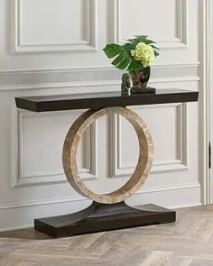 Shop Napree Circle Console Table from John-Richard Collection at Horchow, where you'll find new lower shipping on hundreds of home furnishings and gifts. Living Room Cabinets, Living Room Furniture, Home Furniture, Living Room Decor, Furniture Design, Entryway Decor, Wall Decor, Dressing Table Design, Home And Deco