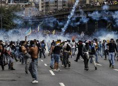 Image result for venezuelan riots people