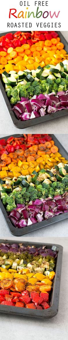 To roast vegetables without oil is possible and they taste amazing! Source: www.simpleveganblog.com