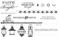 Illuminate, CTMH November Stamp of the Month www.fancymelissa.com #ctmh #faith #light #lantern