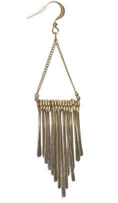 Trendy and Cute dresses - Chloe Loves Charlie - Metal Bar Chandelier Earrings - chloelovescharlie.com | $18.00