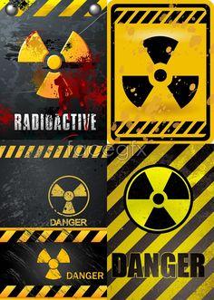 Nuclear danger warning warning lines signs Danger vector Danger Signs, Custom Hot Wheels, Chernobyl, Cool Stickers, Star Wars Episodes, Pop Art, Vector Free, Street Art, Cool Designs