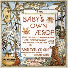 Walter Crane Baby's own Aesop