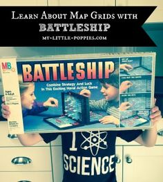 Learn About Map Grids with Battleship: Ad some fun to your geography lesson with this fun game and activity!