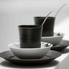 Royal Copenhagen Black Fluted Dinnerware