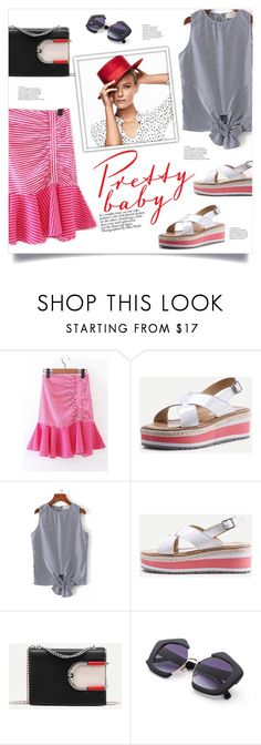 """""""Stripes"""" by mahafromkailash ❤ liked on Polyvore"""
