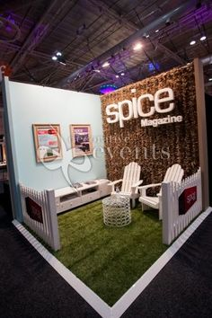 Custom Exhibition Stands - under 10' :: Decorative Events & Exhibitions: