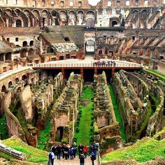 Colosseum, Rome, Italy - All that remains...