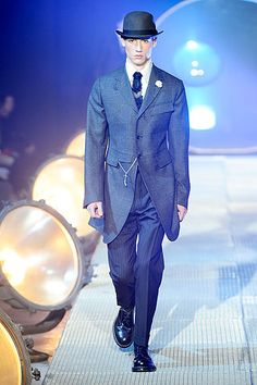 Eternal Couture: Menswear- John Galliano, Jean Paul Gaultier, Moncler Gamme Blue, Hermes, and Yves Saint Laurent
