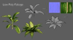 ArtStation - Foliage Prop, Chris Camp