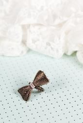 Dainty Little Me Bronze Bow Ring #rings #accessories #boutique