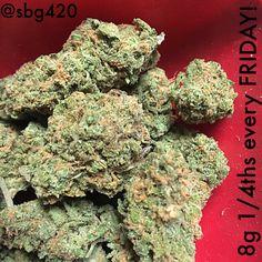 8g 1/4ths EVERY FRIDAY! #420 #cannabis #chulavista #mmj #marijuana #hybrid #sativa #indica #sandiego
