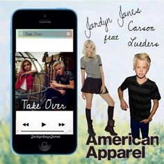 New edittake over is the new song! @JJJordynjones @carsonlueders hope you like the edit