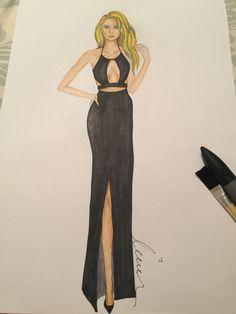 #fashionsketch #fashionillustration  #fashionillustrator #copicmarkers #promarker #copic #turkey #prints #drawing #fashion #happy #amateurdrawings #beginner #blonde #black #mei.