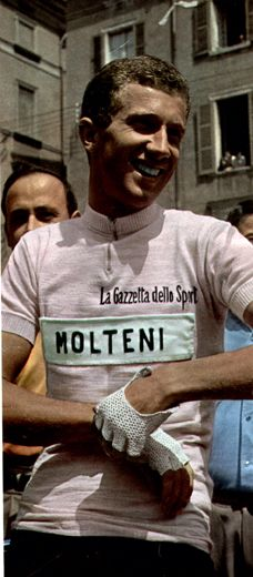 Gianni Motta in the maglia rosa Cycling Jerseys 55d0f7dc2