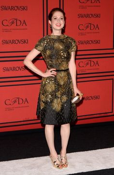 See What Everyone Wore to the 2013 CFDA Awards: Ellie Kemper