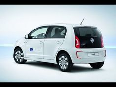 2014 Volkswagen E-UP! Fully Electric car officially debuts - range mpg charge time 2013 e up eup VW