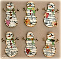 New Totally Free Snowmen crafts ornaments Concepts Snowman Holiday homemade projects might sometimes be created just about all throughout the winter le Snowman Crafts, Christmas Projects, Holiday Crafts, Holiday Fun, Christmas Ideas, Winter Art Projects, Diy Projects, Noel Christmas, Homemade Christmas