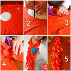 How to make a scarf using a t-shirt! no sewing required via @Cheryl Sousan | Tidymom.net