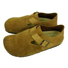 Birkenstock Clogs London Suede Yellow....I wish fall was long enough in FL to justify owning these