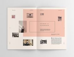 brochure layout png great sophie calle hacedores de mundo on behance design of brochure layout png Design Brochure, Brochure Layout, Graphic Design Layouts, Graphic Design Inspiration, Layout Design, Design Ideas, Poster Layout, Book Layout, Print Layout