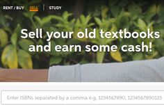 Where to sell your eBooks online in person, Earn Cash: Old, New, Used Textbooks